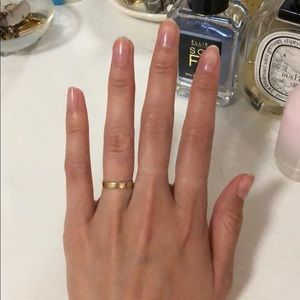 💫 Catbird Solid Gold Tomboy Ring 💫